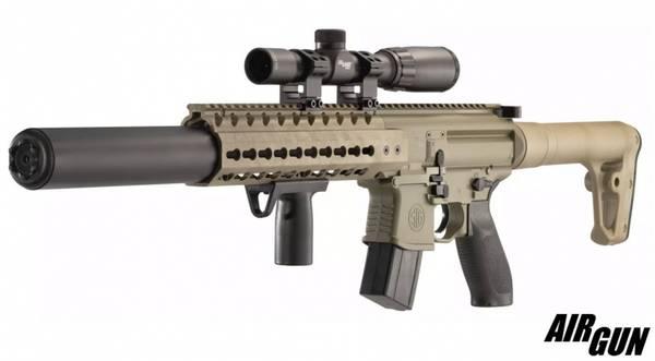 SIG SAUER SIG MCX, SCOPE FDE - Luftgevær 4,5mm Pellet