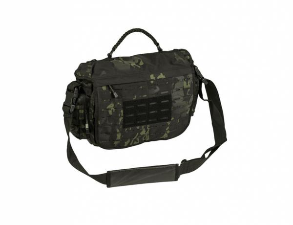 TACTICAL PARACORD BAG LG - MULTITARN BLACK